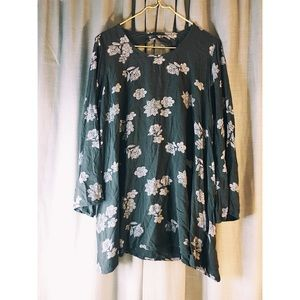 Mossimo Floral Tunic
